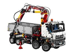 lego technic logo buy lego technic mercedes benz arocs truck multi color online at