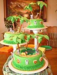 butter cream frosting baby shower giraffe cakes images jungle
