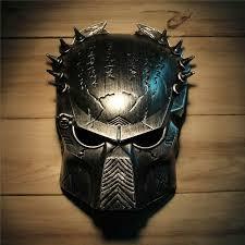 mens masks cool predator masquerade masks props silver
