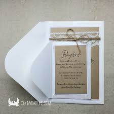 plain wedding invitations lace wedding invitations free shipping
