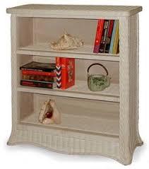 wicker bookcase wicker etagere bakers rack