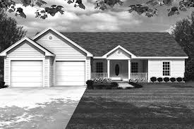 ranch style house plan 3 beds 2 baths 1400 sq ft plan 21 401