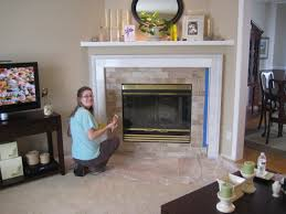 painting ceramic tile fireplace surround best 20 subway tile