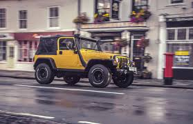 yellow jeep storm 13 2005 jeep wrangler tj 4 0l showcase storm jeeps