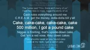 lời dịch bài hát pound cake paris morton music 2 drake