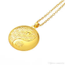 knot necklace silver images Wholesale supernatural knot male flower of life necklace men jpg