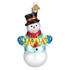 2017 joyful snowman
