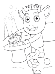 animated coloring books