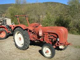 vintage lamborghini tractor 1960 porsche tractor super export type 329 for sale