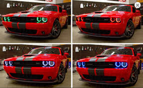 2015 dodge challenger lights 2015 2018 dodge challenger multicolor led boards led lighting
