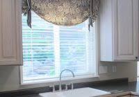 contemporary kitchen curtains valance looks spectacular in