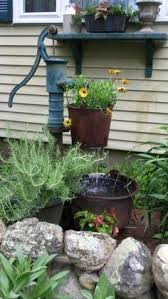 how to make an outdoor water fountain or water garden from