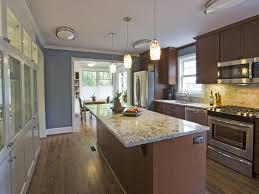 kitchen design beautiful galley kitchen designs with island