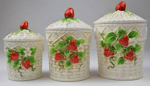 kitchen decorative canisters kitchen designs typhoon vintage kitchen canister set inspirations