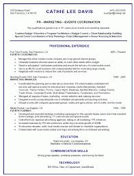 Events Manager Resume Sample by 20 Sample Marketing Coordinator Resume Paul Clark Social