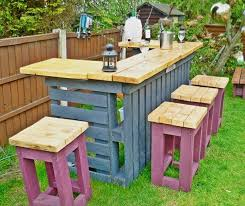 tables made out of pallets made by pallets online
