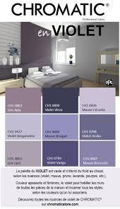 couleur de chambre violet la palette du violet est vaste et s étend du froid au chaud selon