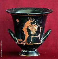vasi etruschi cratere ceramica greco etrusca alt 14cm vendita di vasi