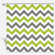 Grey Green Shower Curtain Lime Green Shower Curtains Cafepress