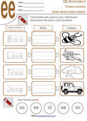 vowel sound worksheets vowel digraph phonics