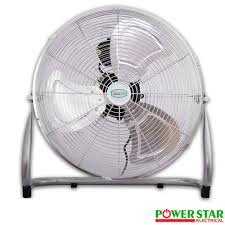 Chrome Floor L Commercial High Velocity Floor Fans L Powerstarelectricals Co Uk