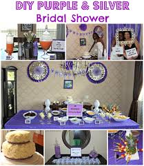 Purple And Silver Wedding Diy Bridal Shower Purple And Silver U2013 The Bajan Texan
