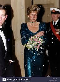 Prince Charles Princess Diana Princess Diana With Prince Charles At The Diamond Ball At The