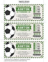 best 25 soccer tickets ideas on pinterest birthday games kids