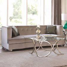 Grey Velvet Sofas Velvet Sofa Ebay