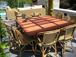 Outdoor Bar Table Dining Room Striking Wooden Outdoor Dining Table Ideas Combine