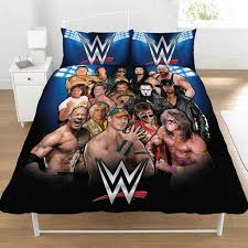 wwe bedroom wwe superstars single and double duvet cover sets kids bedroom