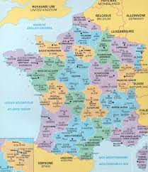 france department map