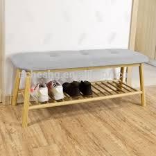 bamboo shoe rack bench shoe rack bench seat wooden shoe display