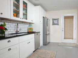 Gray And White Kitchen Cabinets Refinishing Kitchen Cabinet Ideas Pictures U0026 Tips From Hgtv Hgtv