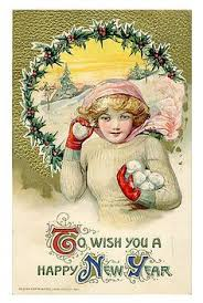 new year s postcards hiver noel cartes postales anciennes postcards
