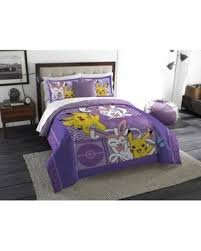 Minecraft Twin Comforter Great Deals On Pokemon Lavender Chu Twin Full Bedding Comforter Set
