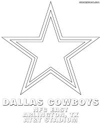 dallas cowboys coloring pages qlyview com