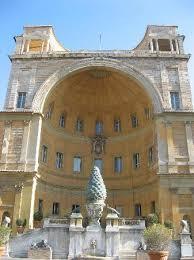 cortile della pigna cortile della pigna photo de mus礬es du vatican vatican
