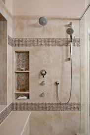 Glass Tiles Bathroom Here Would Be A Great Place For Those Vertical Glass Tiles For A