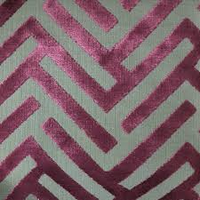 ministry geometric pattern cut velvet upholstery fabric by the