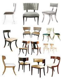 Classic Design Chairs Enduring Design Of Classical Antiquity The Klismos Chair House