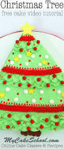 christmas tree sheet cake free cake video my cake