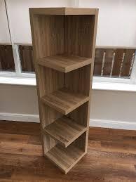next corsica range corner shelf unit in ashington