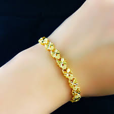aliexpress buy new arrival hight quality white gold new arrival fashion 24k gp gold color jewelry bracelet yellow