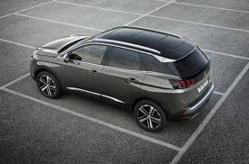 peugeot 3008 2016 interior press release the new peugeot 3008 gt suv temper gt spirit