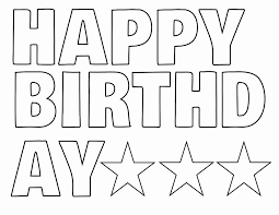 printable letters cut out letter template cut out unique printable happy birthday banner