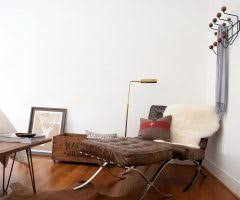 Ebay Cowhide Rugs Amazing Barcelona Chair Ebay With Modern Side Table Daybed