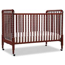 Convertible Crib Cherry Davinci Lind 3 In 1 Convertible Crib In Cherry Buybuy Baby