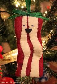 make a bacon ornament