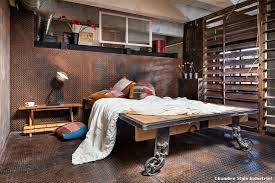chambre style industrielle chambre style industriel